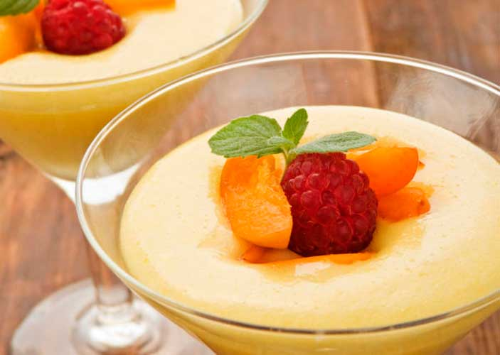Mousse de papaya