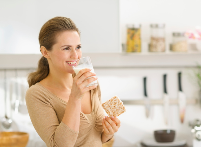La leche vegetal