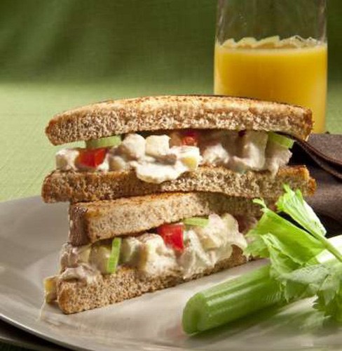 Sandwich de atún picante
