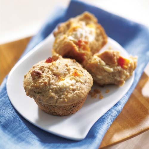 muffins-cremosos-y-saludables-de-avena-y-durazno