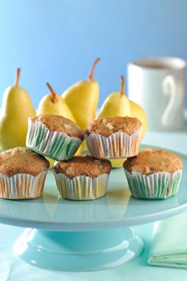 muffins-de-pera