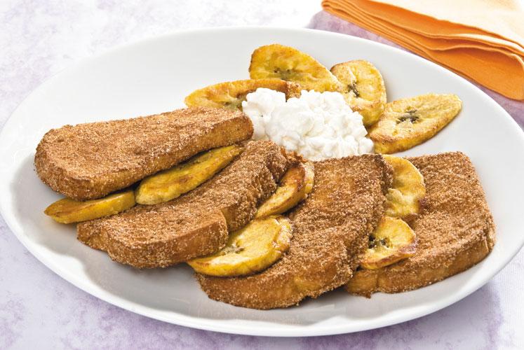 pan-frances-con-platano-y-queso