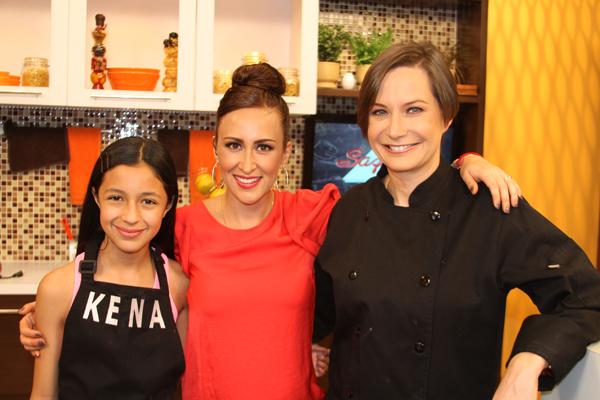 Isabel Yudice, Dore Ferriz y Mónica Dionne en el programa Sazonarte.