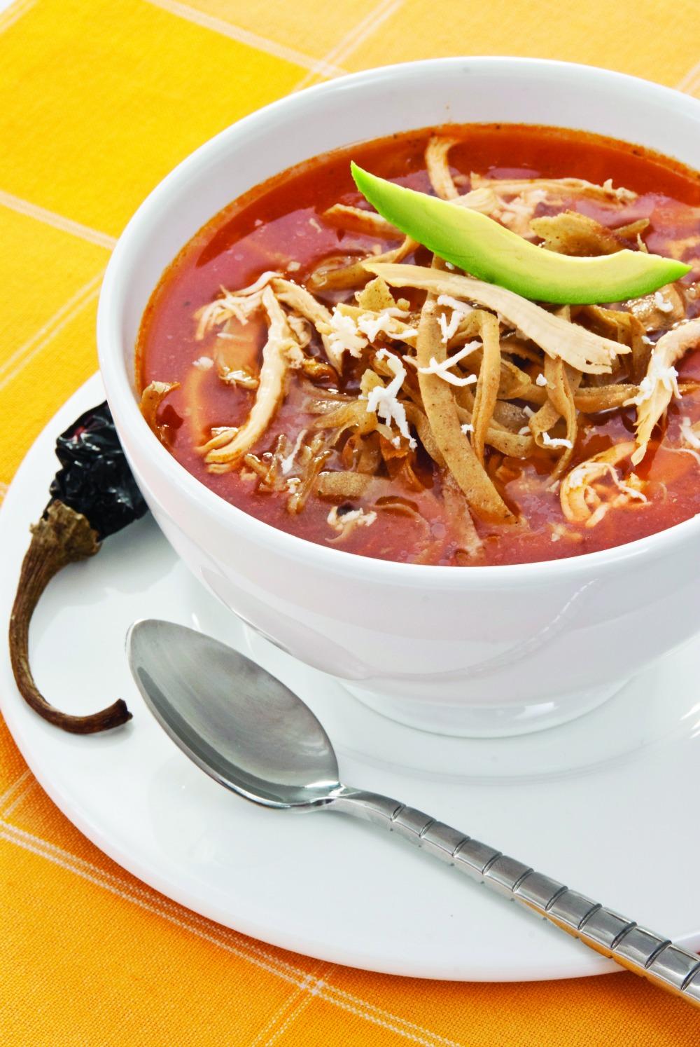 sopa mexicana ingredientes
