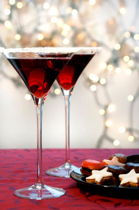 Martini navideño