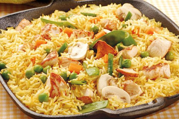 Arroz con pollo y vegetales el horno de lucas - Platos gourmet economicos ...