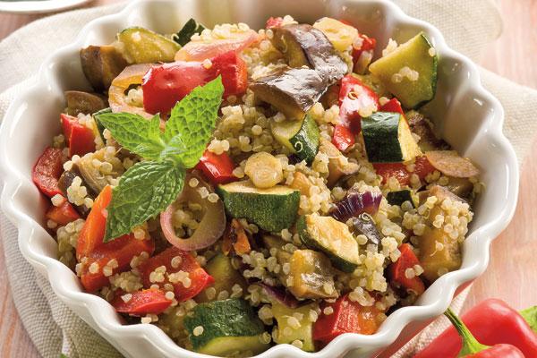 Quinoa con vegetales el horno de lucas for Cocina quinoa con verduras