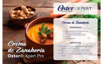 Receta-Crema-de-zanahoria---Xpert-Pro
