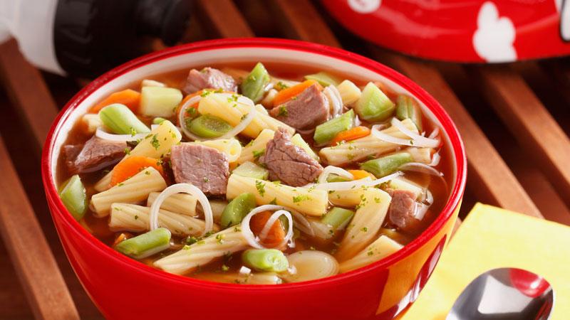Sopa-de-vegetales-con-Piccolini-Mini-Tortiglioni
