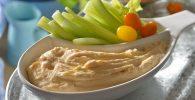 receta de Dip de pure de papa queso y chipotle