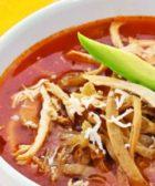 Sopa de tortilla especial