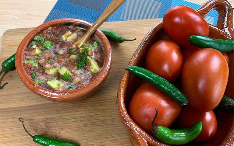 como hacer salsa roja mexicana