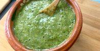 salsa verde cocida mexicana