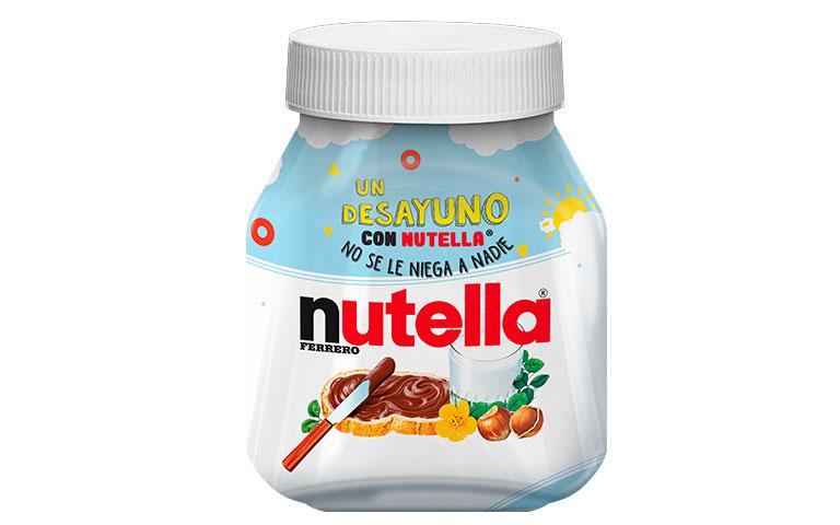 Un desayuno con Nutella® no se le niega a nadie
