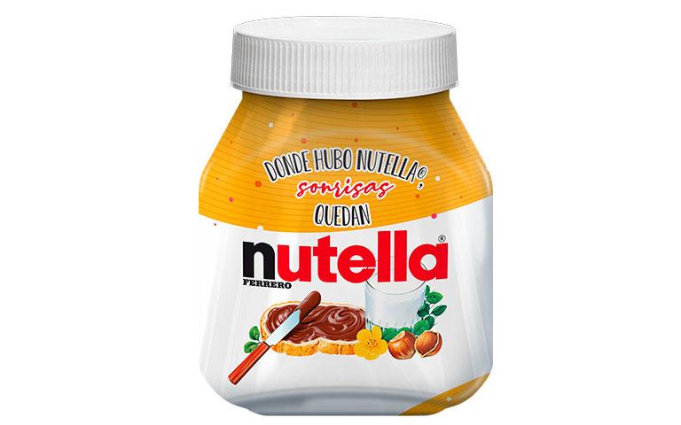 donde hubo Nutella®, sonrisas quedan