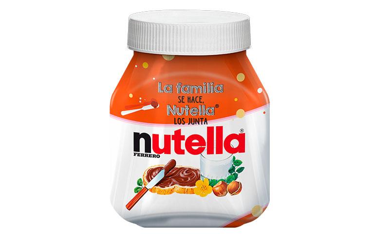 Nutella lanza 5 tarros edición especial