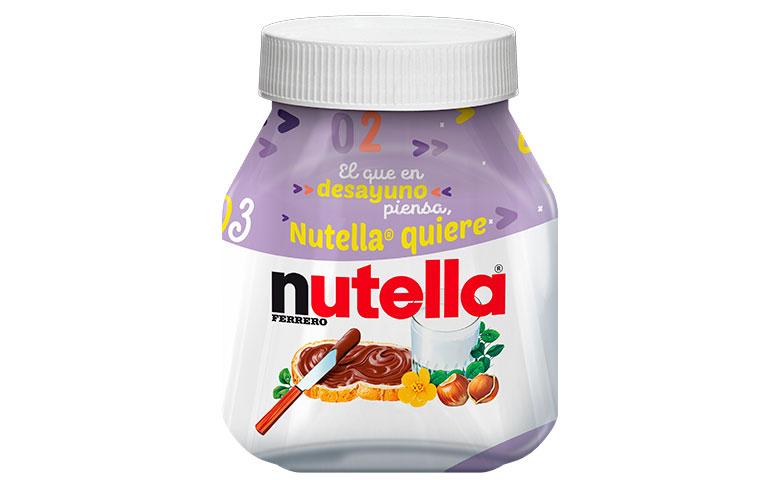 tarros de edición limitada  de Nutella