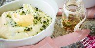 receta de Puré de papa con ajo y eneldo
