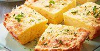 receta de Soufflé de papa y cebolla caramelizada