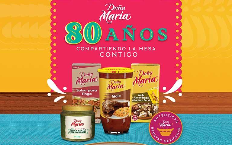 80 años Doña María